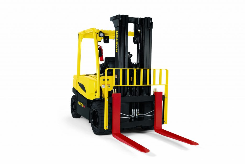 4 Wheel Electric Pneumatic Tire Forklift