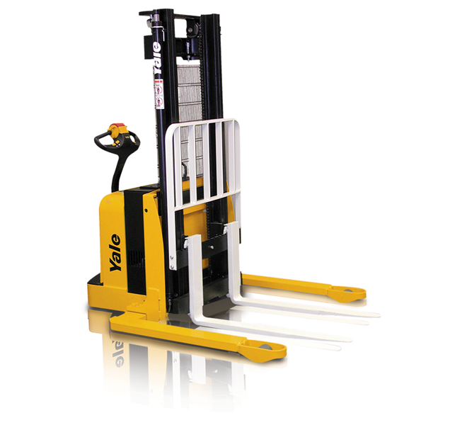 Electric Straddle Stackers