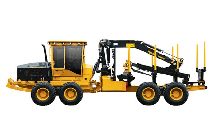 TIGERCAT C-Series Forwarder - Right profile view