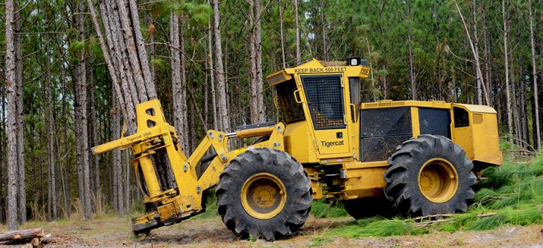 TIGERCAT Felling Heads 2000 Bunching Shear -