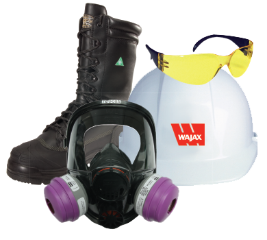 Safety and Mill Supplies - Face mask hard hat and safety boots