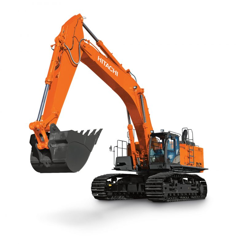 HITACHI ZX670LC-6 Excavator Production - Bucket Force (ISO) 369 kN (82,954 lb)