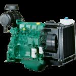 VOLVO PENTA POWER GENERATION TD520GE 50 HZ Standby Power Engine - Left side view