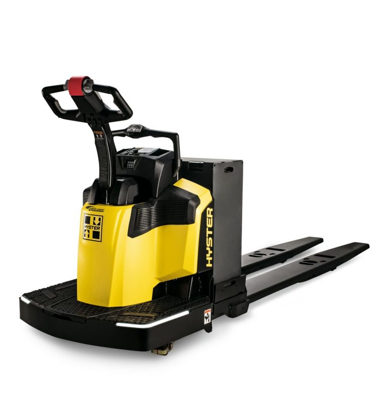 HYSTER End Rider Pallet Truck - Front right view