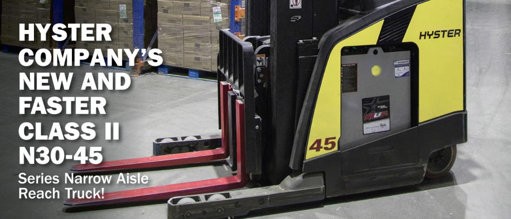 Hyster Narrow Aisle Reach Truck Promotion
