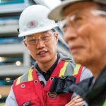 Workers Talking