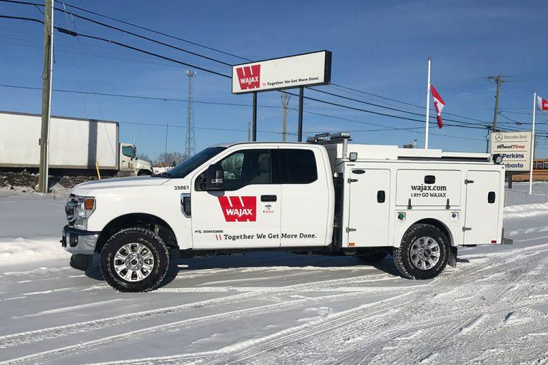 Wajax Truck